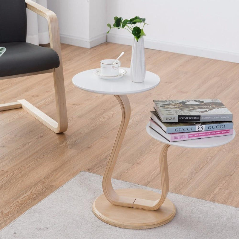 Swan Side Table