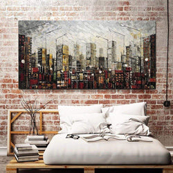 Manhattan Oil Painting