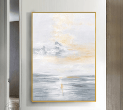Middle of the Ocean Oil Painting