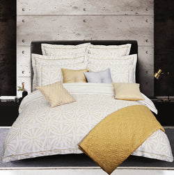 Vitruvian Weave Duvet Cover Set (Egyptian Cotton)