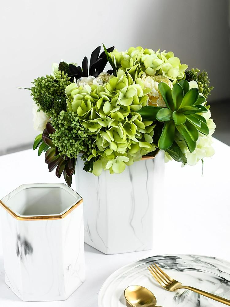 Touch of Gold Vase