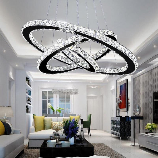 Big Rings Chandelier