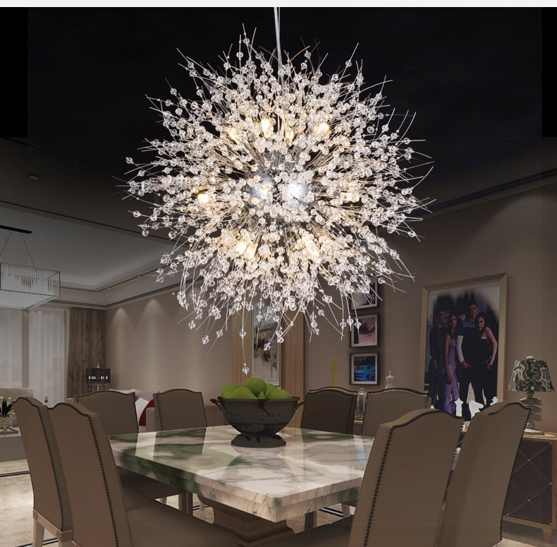 Crystal Luster Chandelier