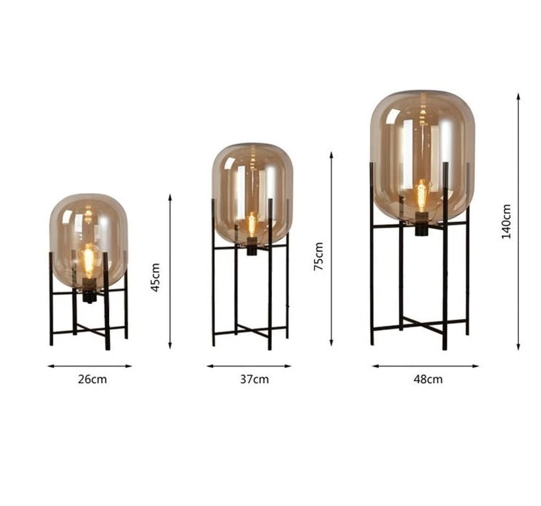 Space Ship Floor Lamp