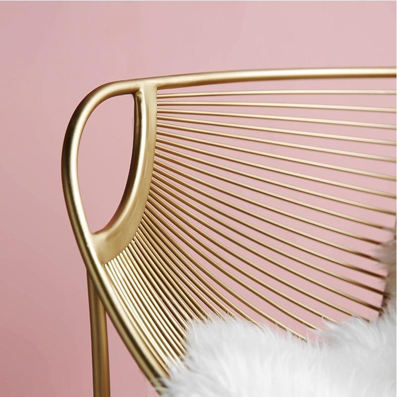 Feather Steel Chair