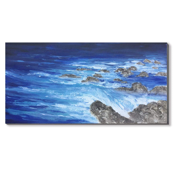 Whispering Seashore Oil Painting