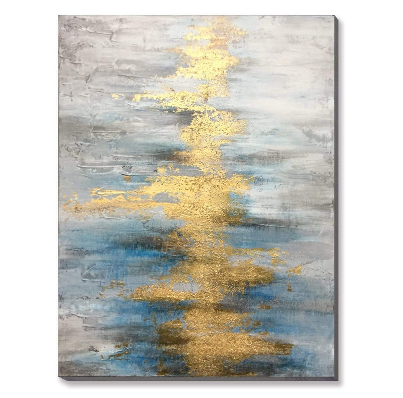 Shimmering River Oil Painting