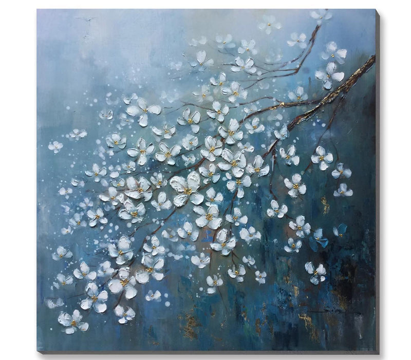 Lily of Water Oil Painting