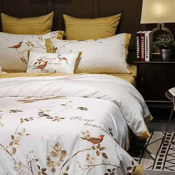 Canary Gold Cover Set (Egyptian Cotton)