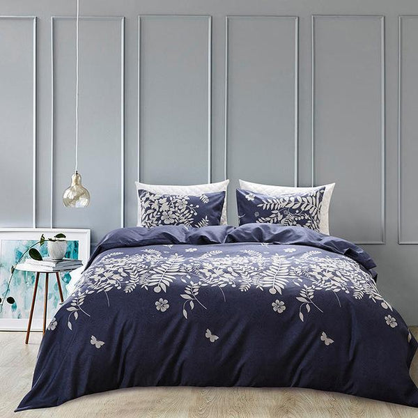 Blue Forest Duvet Cover Set