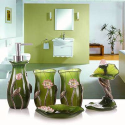 Tea Tree Bathroom Accessories Set