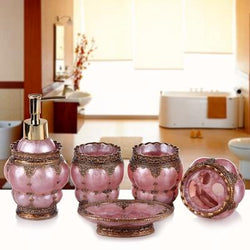 Lavish Links Bathroom Accessories Set