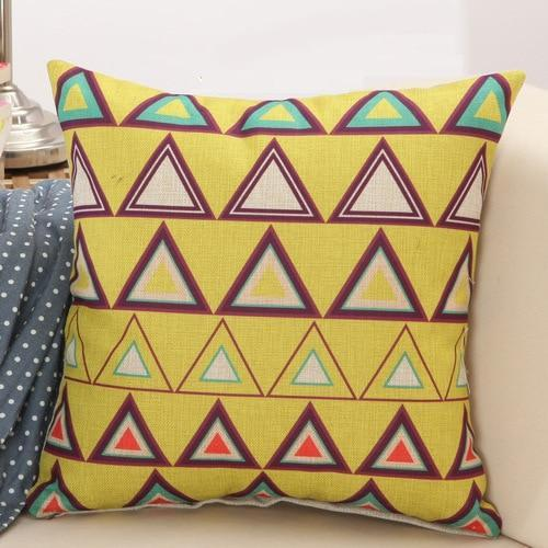 Nordic Geometric Cushion