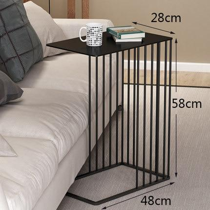 Iron Ring Side Table