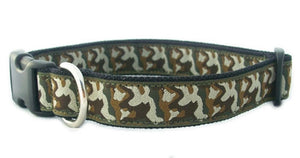 Hemp Camouflage Canvas Collar
