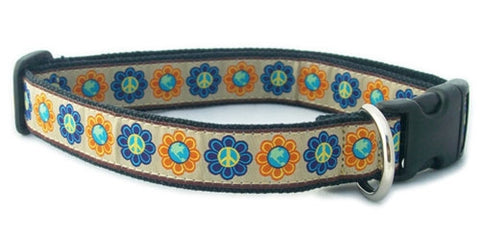 Hemp World Peace Canvas Collar