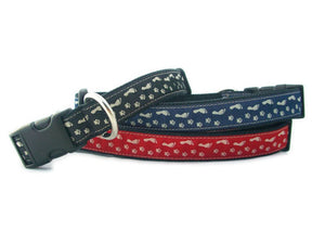 Hemp Best Friends Red Canvas Collar