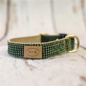 Garden Delight Lux Cotton Dog Collar