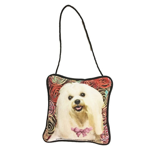 Maltese Mini Pillow