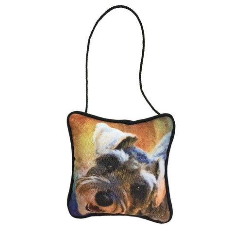 Schnauzer Mini Pillow