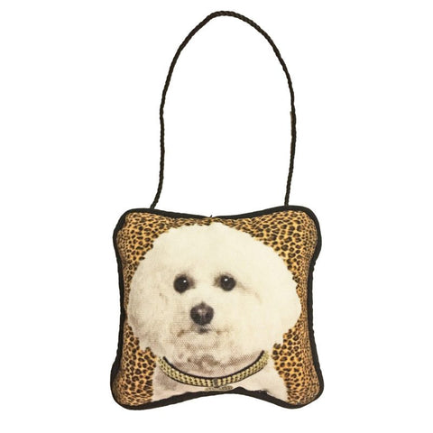 Bichon Frise Mini Pillow