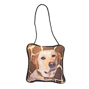 Yellow Lab Mini Pillow