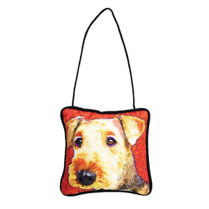 Airedale Mini Pillow