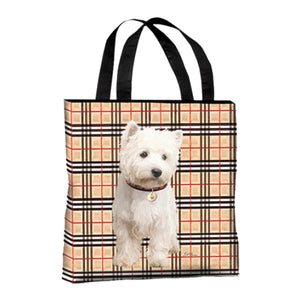 Westie Canvas Tote Bag
