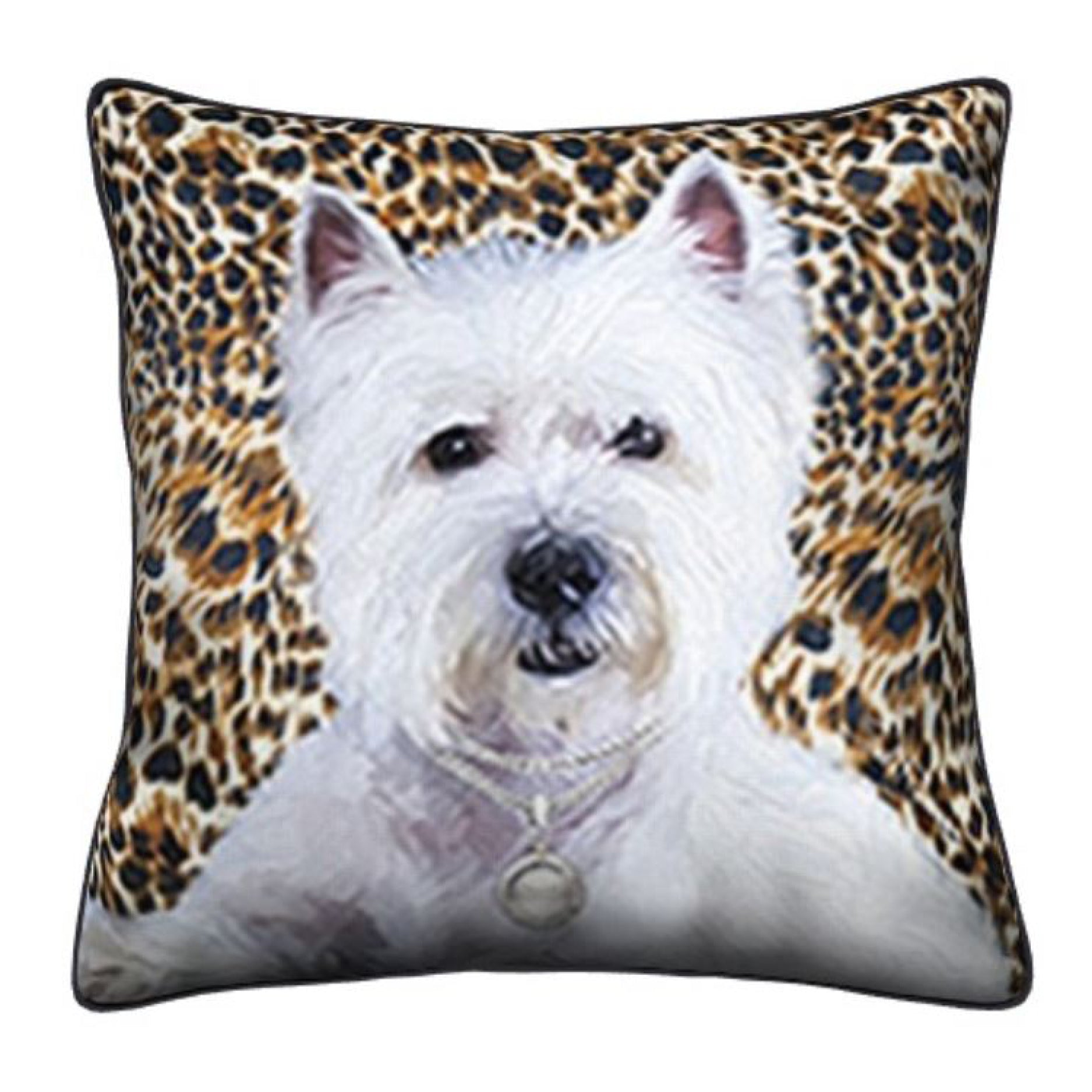 Westie Throw Pillow