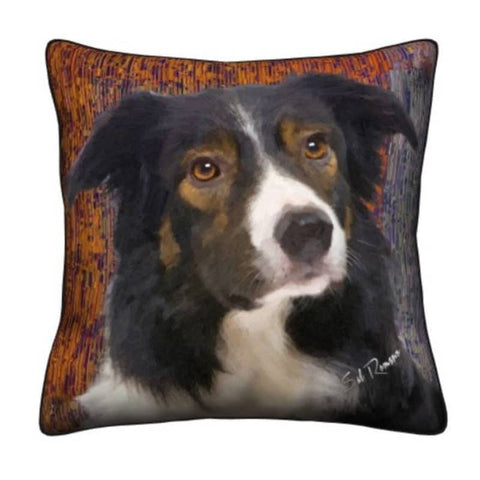 Aussie Shepherd Throw Pillow