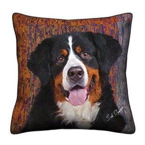 Bernese Mt. Dog Throw Pillow