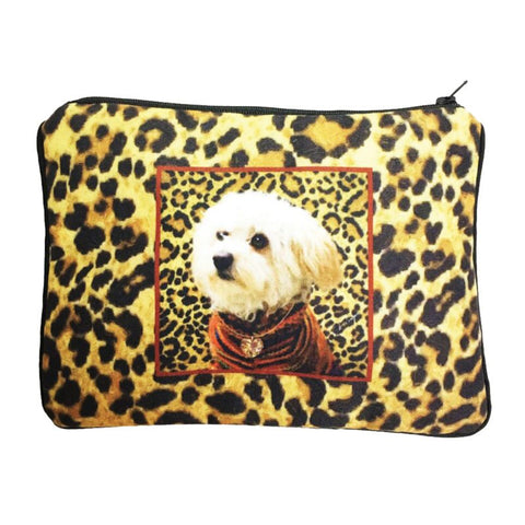 Maltipoo Fully Lined Zipper Bag
