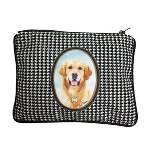 Golden Retriever Fully Lined Zipper Bag
