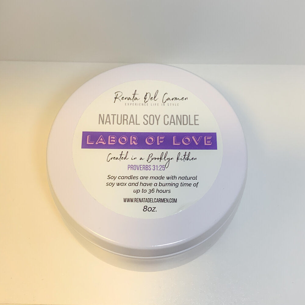 Labor of Love Soy Candle