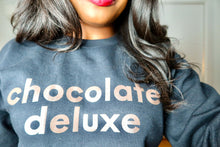 "Load image into Gallery viewer, ""Chocolate Deluxe"" Sweatshirt"