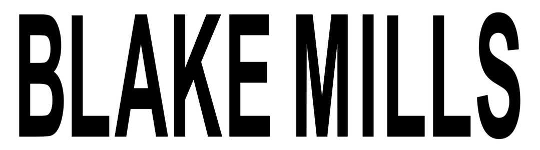 Blake Mills Official Shop logo