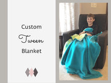 Load image into Gallery viewer, Custom Tween Blanket