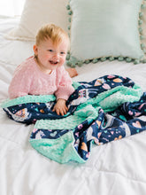 Load image into Gallery viewer, Llama Personalized Minky Blanket