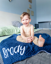 Load image into Gallery viewer, Personalized Elephant Baby Blanket
