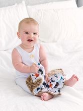 Load image into Gallery viewer, Personalized Woodland Animals Lovey Blanket