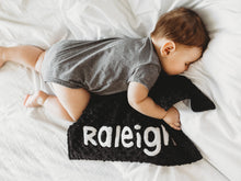 Load image into Gallery viewer, Buffalo Check Personalized Lovey Blanket