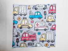 Load image into Gallery viewer, Rescue Truck Personalized Lovey Blanket