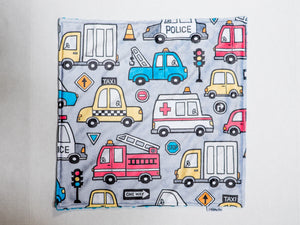 Rescue Truck Personalized Lovey Blanket