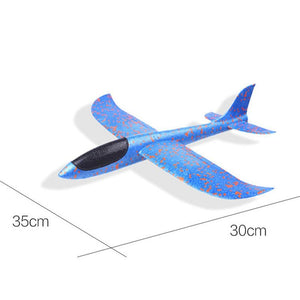 2019 DIY Hand Throw Flying Glider Planes Toys For Children Foam Aeroplane Model Party Bag Fillers Flying Glider Plane Toys Game