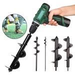 Drill-force Garden Planter Hole Digger Tools
