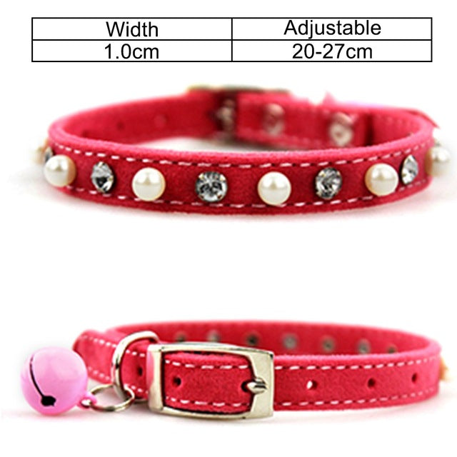 Collar With Bell For Dogs and Cats