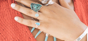 Turquoise strengthens, heals and brings ones energy to a higher level.  It is a protective stone and brings creativity, wisdom and love.