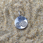 Load image into Gallery viewer, Pendant Jenstones Signature Swirl-Jenstones Jewelry