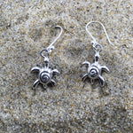 Load image into Gallery viewer, Drop Earrings Turtle Wave-Jenstones Jewelry
