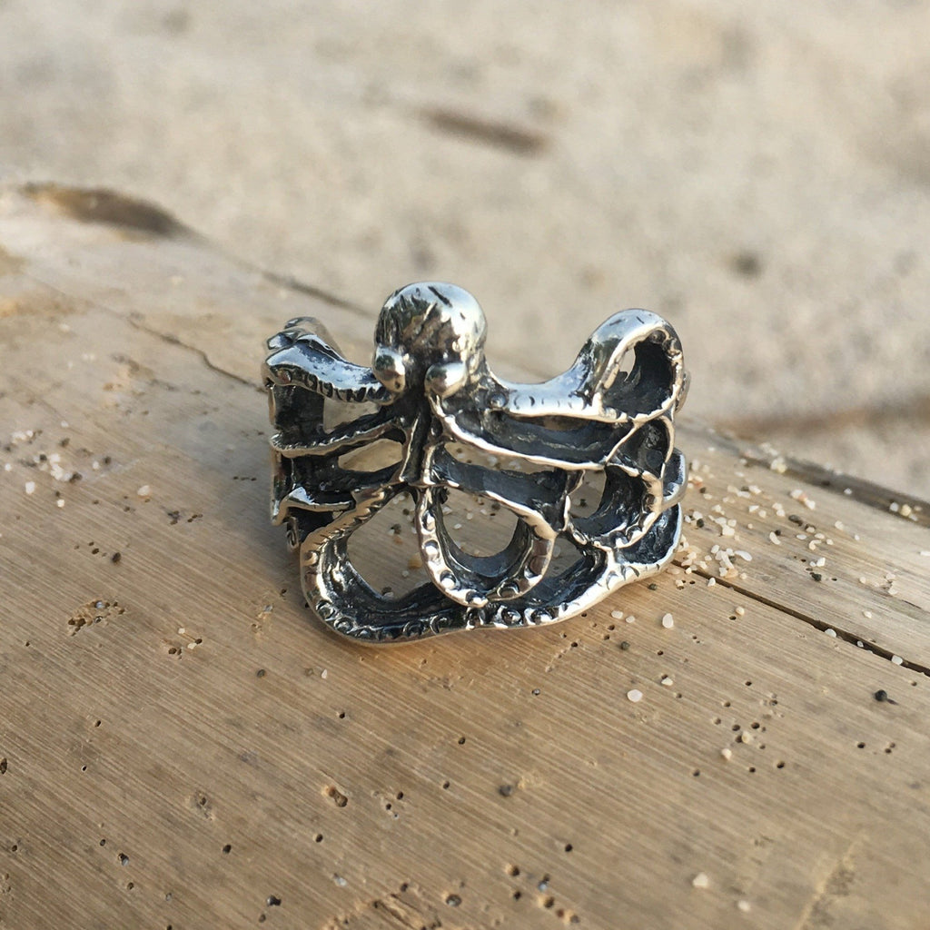 Octopus Ring-Jenstones Jewelry